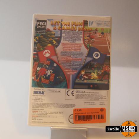 Wii spel | Mario & Sonic Olympische spelen