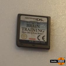 nintendo DS spel | Brain training
