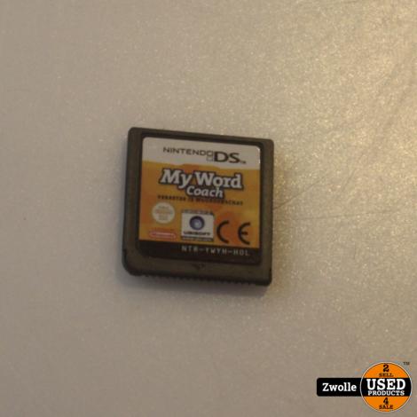 Nintendo DS spel | My word coach