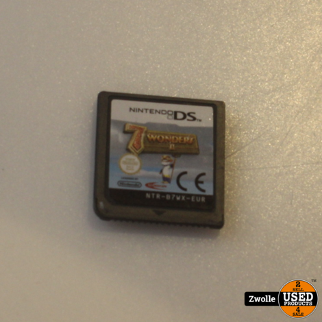 Nintendo DS game | 7 Wonders 2