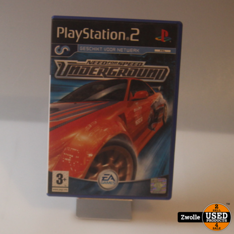 Need for speed underground    playstation 2 game