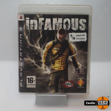 PS3 spel   Infamous