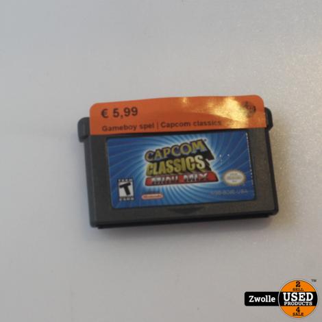 Gameboy spel | Capcom classics