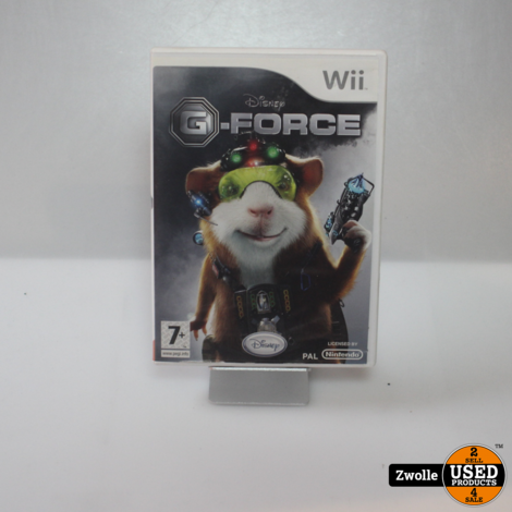 Wii spel | G-force