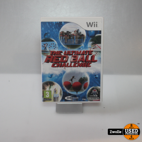 Wii spel | The ultimate red ball challenge