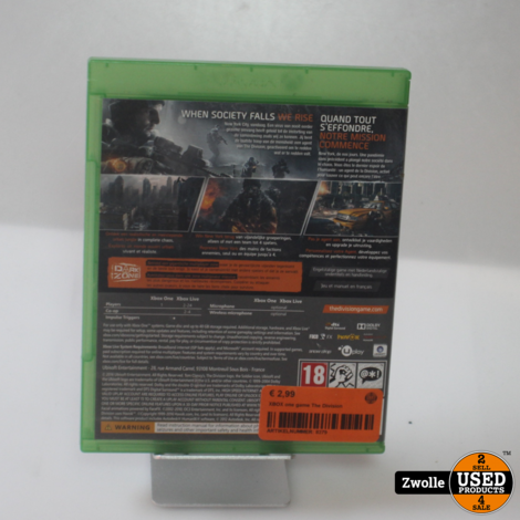 XBOX one game | The Division