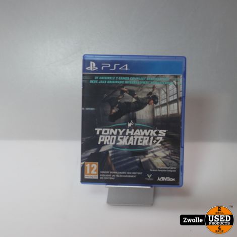 PS4 spel   Tony Hawk's pro skater 1 en 2