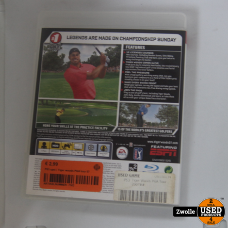 PS3 spel | Tiger woods PGA tour 07