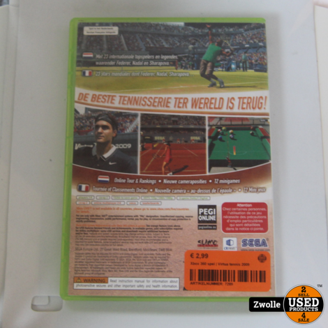 Xbox 360 spel | Virtua tennis 2009
