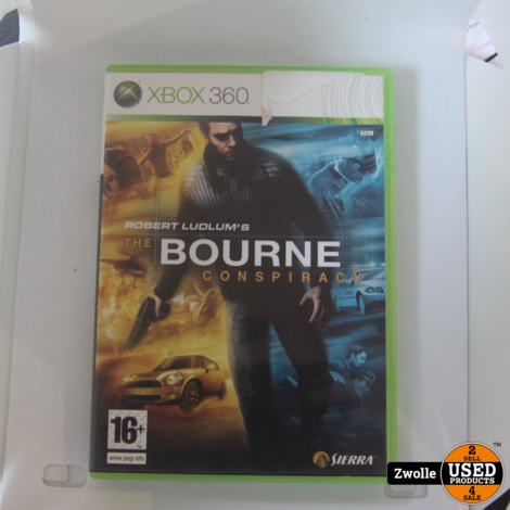 the bourne conspiracy || xbox 360 game