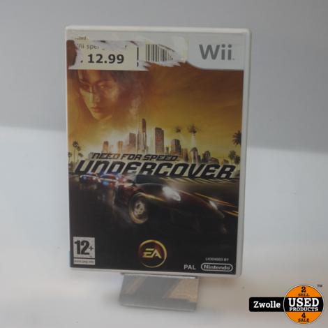 Wii spel | Undercover