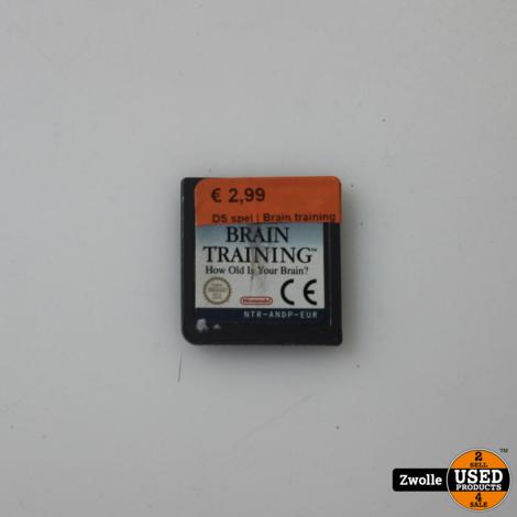 Nintendo DS game | Brain training