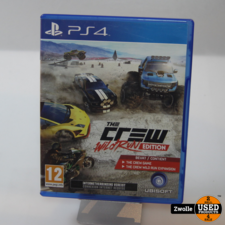 PS4 Game   The Crew Wild Run Edition