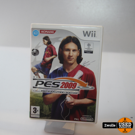 Wii game PES 2009