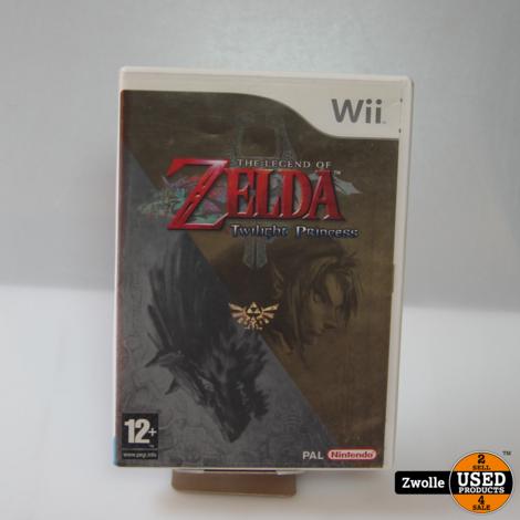 Wii spel   Zelda Twilight princess