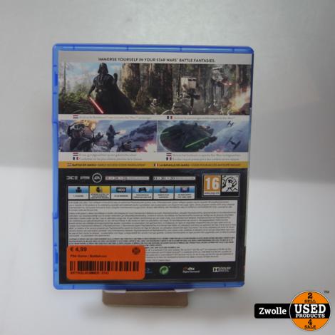 PS4 Game   Battlefront