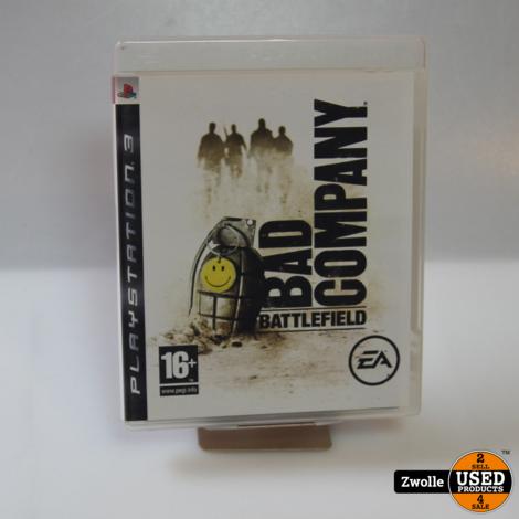 Playstation 3 bad company battlefield