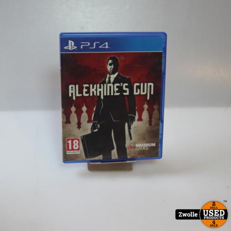 PS4 game   Alekhine's gun