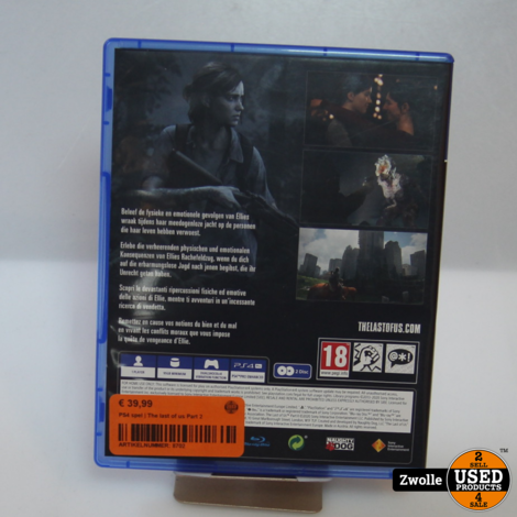 PS4 spel | The last of us Part 2