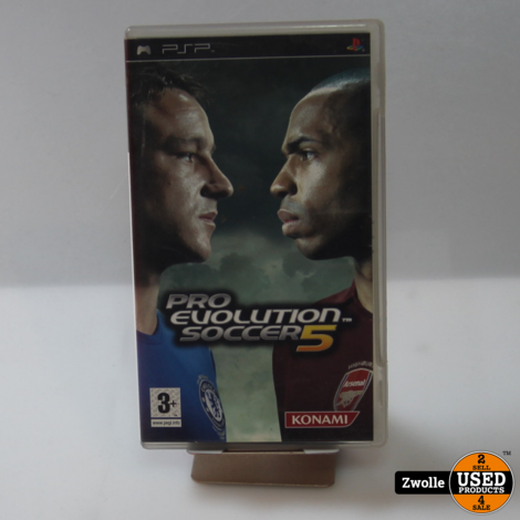 PSP spel | PES 5