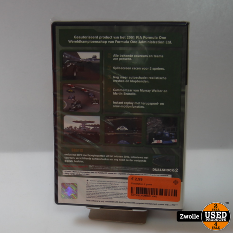 PS2 spel | Formula one 2001