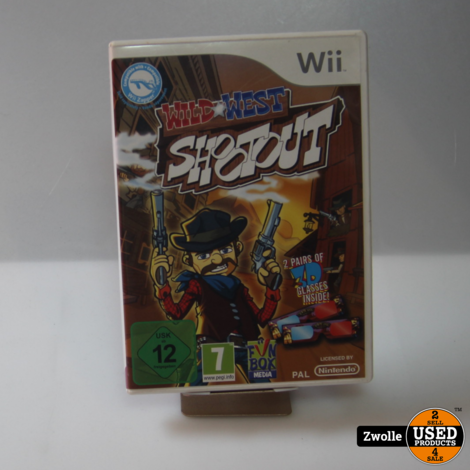 Wii spel | Wild West Shootout