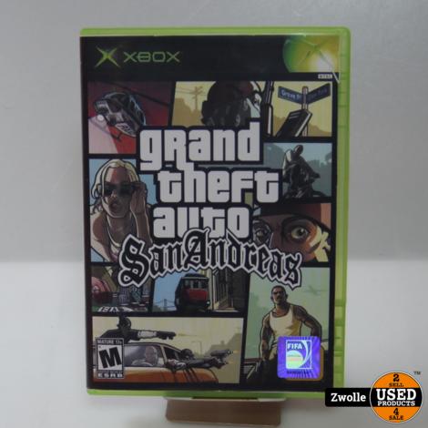 Xbox Classic Game | Grand Theft Auto San Andreas