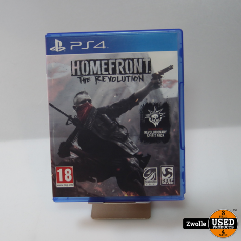 PS4 game | Homefront The revolution