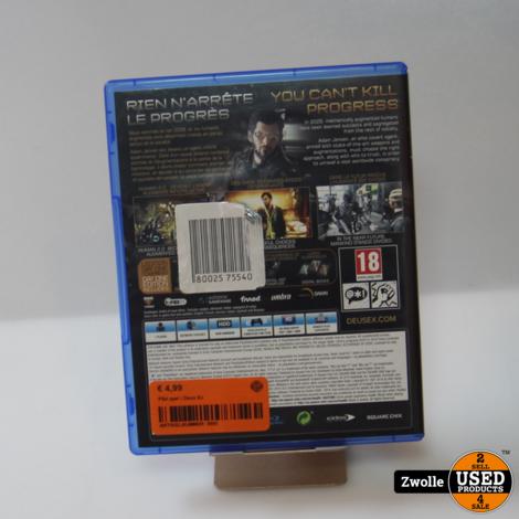 PS4 spel   Deus Ex
