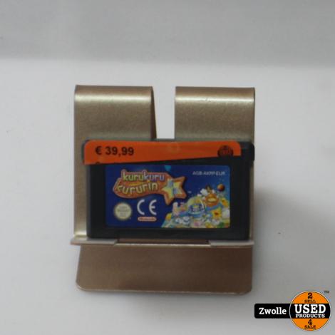 Gameboy Advance game   Kurkuro Kurkurin