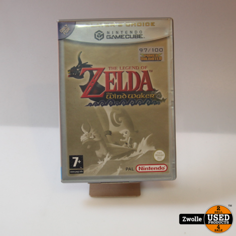 Gamecube spel   Zelda the Windmaker