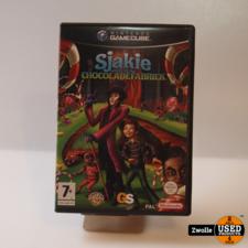 nintendo Gamecube spel   Sjakie en de chocoladefabriek
