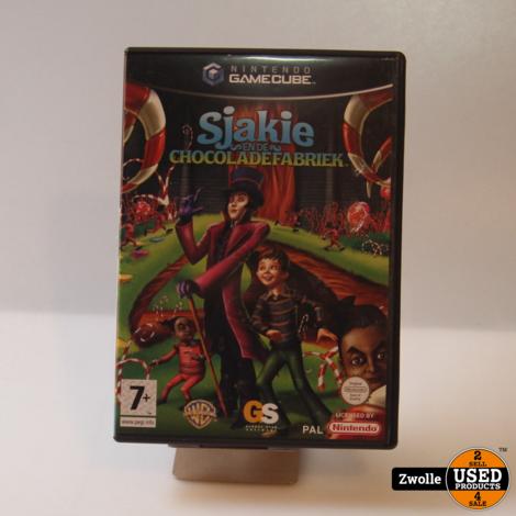 Gamecube spel   Sjakie en de chocoladefabriek