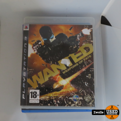 Playstation 3 game Wanted Weapons of Fate