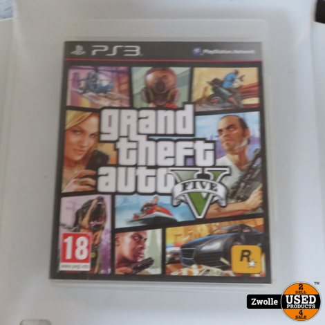 Playstation 3 game Gran Theft Auto V