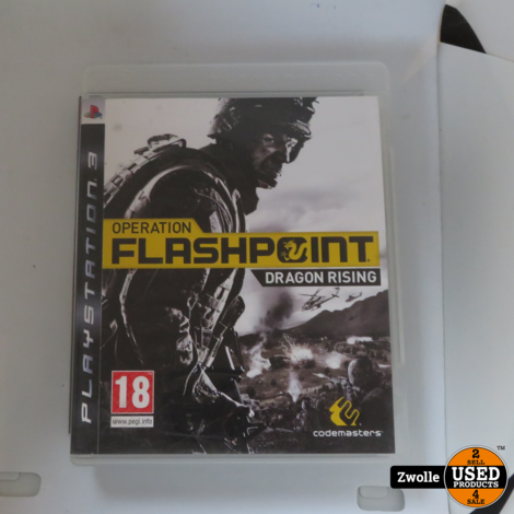 Playstation 3 game Flashpoint Dragon Rising