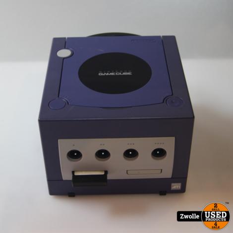 Nintendo Gamecube paars   Met Originele controller   goede staat