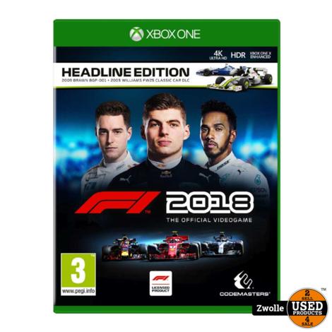 Xbox one spel | F1 2018