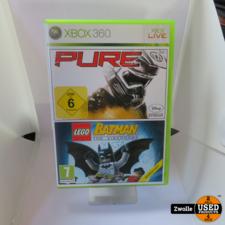 xbox Xbox 360 spel   PURE en Lego Batman