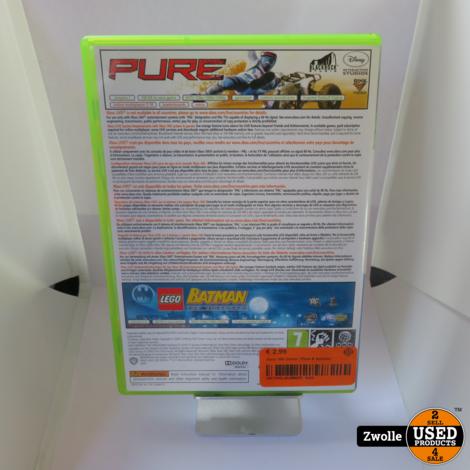 Xbox 360 spel   PURE en Lego Batman