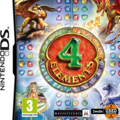 DS spel   4 Elements