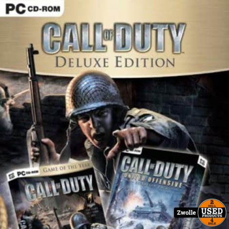 call of duty deluxe edition    PC game
