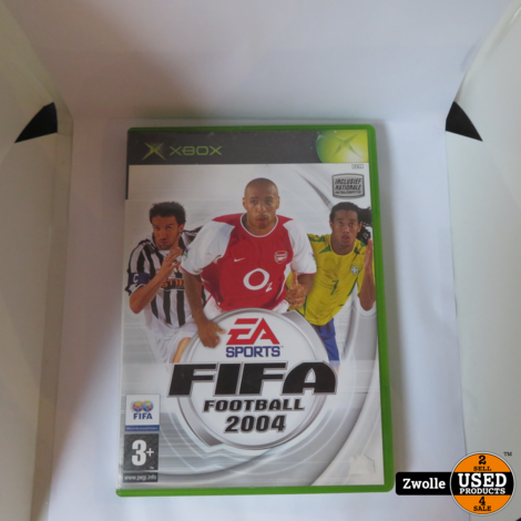 Xbox spel | FIFA 2004