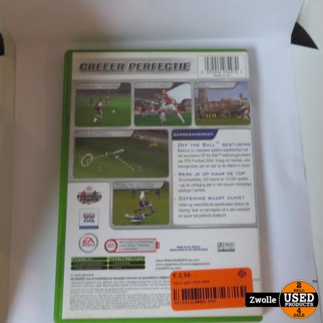 Xbox game | FIFA 2004