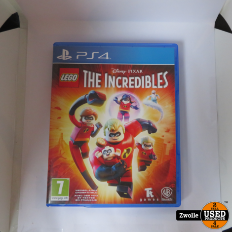 PS4 game | LEGO The incredibles