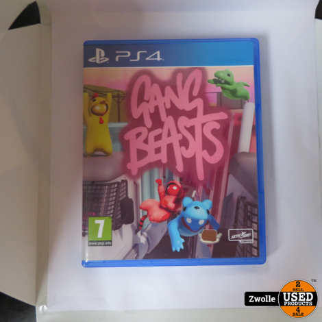PS4 game   Gang beasts