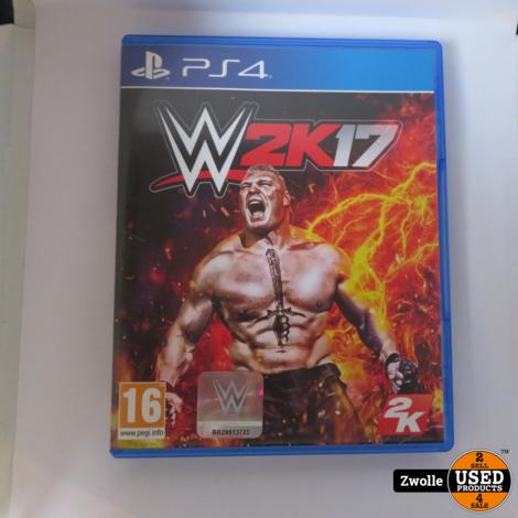 Playstation 4 spel W2k17