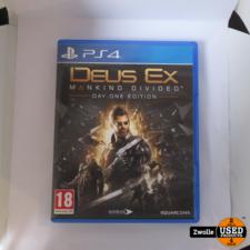 playstation PS4 game | Deus Ex