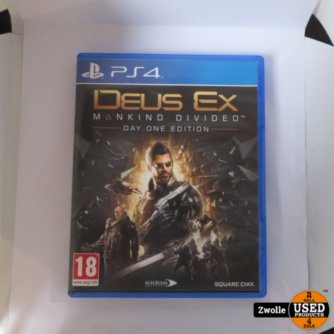 PS4 game | Deus Ex