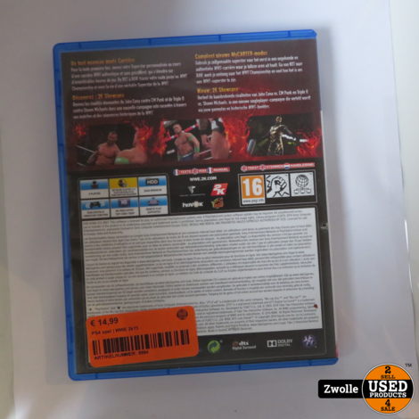 PS4 game | WWE 2k15
